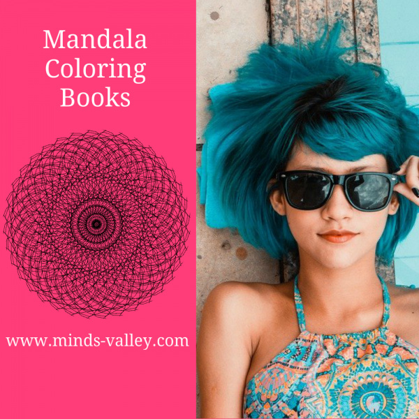 Mandala Coloring Books minds valley website